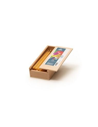 ZDK Dompelpakket met bijenwaskorrels en lont in dompelblik